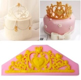 Jual Putri Mahkota Silikon Fondant Cetakan Kue Dekorasi Cokelat Cetakan Kue Dekorasi Intl Tiongkok Murah