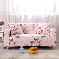 Printed Stretch Elastic Sofa Cover Slipcovers Couch Furniture Protector for 1 Seater - intl