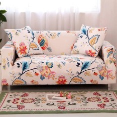 Spek Printed Stretch Elastic Sofa Cover Slipcovers Couch Furniture Protector For 3 Seater Intl Oem