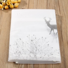 Printing Kulkas Debu Cover Waterproof Wadah Kecil Hal Penyimpanan Tas Rusa-Internasional