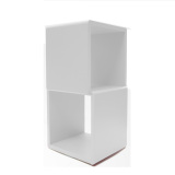 Prissilia Cube Pajangan 2 Space Putih Prissilia Diskon