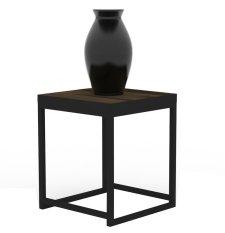 Prissilia Meja Minimalis Escondida Side Table