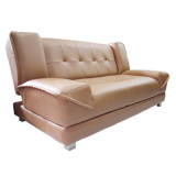Harga Prissilia Sofa Bed Cookie Coklat Yg Bagus