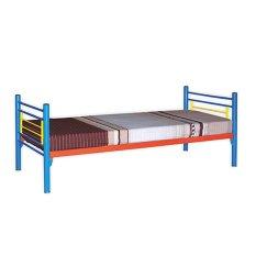 Promo Toko Prissilia Tempat Tidur Florida Steel Bed Single Biru