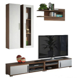 Harga Pro Design Wall Unit Tv Mocca L Pro Design Terbaik