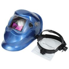 Jual Beli Pro Surya Auto Gelap Las Helm Arc Cekcok Mig Las Penggiling Topeng Biru Tua Coklat