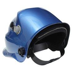 Harga Surya Pro Auto Penggelapan Helm Las Arc Cekcok Mig Topeng Keras Tukang Las Biru Tua Coklat Asli Oem