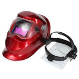 Harga Pro Solar Auto Menjadi Gelap Welding Helmet Arc Tig Mig Masker Grinding Tukang Las Merah Online