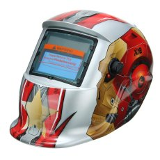 Pro Solar Auto Menjadi Gelap Welding Helmet TIG Masker Grinding Welder Masker Robot Baru-Intl