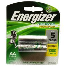 PRODUK BARU Energizer - 2 Pcs Rechargeable Baterry AA 2000 mAh NImH 1.2V Original