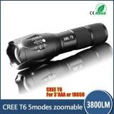 Harga Profesional 3800Lm Cree Xml T6 Led Senter Kualitas Tinggi 5 Mode Zoomable Lanterna Obor Pencahayaan Intl Online Tiongkok