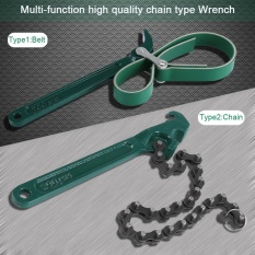 Beli Professional Heavy Duty Chain Belt Wrench Hardware Air Filter Minyak Pipa Alat Perbaikan Belt Intl Murah