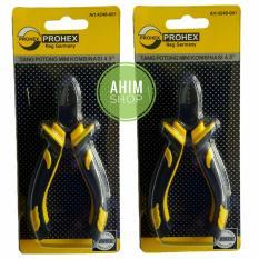 Jual Prohex Tang Potong Mini Kombinasi 4 5 Reg Germany 2 Fungsi 2Pcs Online