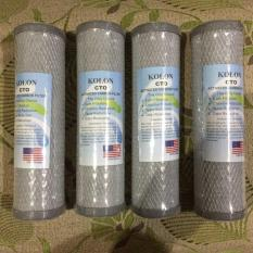 PROMO KOLON CTO Activated Carbon Filter 10 Cartridge Refill Filter Air