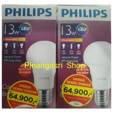 Promo Lampu LED Philips 13 Watt 13W /Philip Kuning 13 W Bulb LED 13Watt Warm White