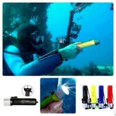 promo Waterproof Flashlight / Senter LED Untuk Menyelam - Q3 180 Lumens original