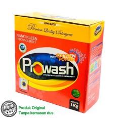 Prowash Deterjen Bubuk / Deterjen Mesin Cuci / Laundry Detergent (Kemasan Plastik)