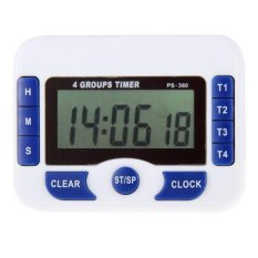 Jual Ps 360 4 Kelompok Alarm Timer Countdown Dapur Digital Clock Intl Branded