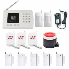 PSTN Nirkabel Rumah Alarm Keamanan Sistem Pencuri Otomatis Tombol Penyetel Keluar Praktis Pemasangan-Internasional