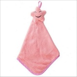Toko Puding Hanging Tipe Coral Velvet Towel Pink Intl Tiongkok