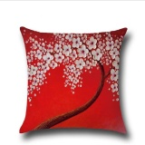 Spek Puding Oil Painting Pillow Case Merah Intl Oem