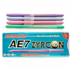 Pulpen Standard AE7 Zyrcon 0.38 Delta Tip (1 pack = 12 pcs)