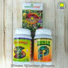 Ulasan Pupuk Organik Nasa Paket Lengkap Supernasa Power Nutrition Greenstar