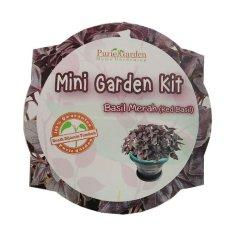 Puriegarden - Mini Garden Kit - Red Basil