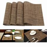 Spesifikasi Pvc Makan Malam 4 Buah Mangkuk Meja Tatakan Gelas Tikar Tebal Isolasi Kain Dapur Kopi Murah