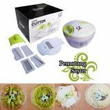 Jual Q2 Mini Cutter Full Set Alat Pencacah Serbaguna Buah Dan Sayur Baru