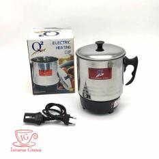 Harga Q2 Termos Listrik Teko Mug Electric Heating Cup Pemanas Air 12Cm Merk Q2