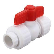 Qiaosha Merah Putar Kenop Plastik PPR Stop Kran Katup untuk Pipa Air Lubang Berhenti