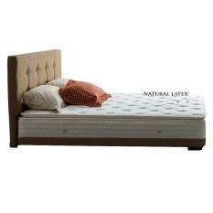 Quantum Bed Full Set Kasur Millenium Teen Smart Latex dengan Divan dan Sandaran Oberoi - Khusus Jabodetabek