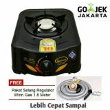 Quantum Kompor Gas 1 Tungku Sun Burner 101R Selang Regulator Winn Gas Dki Jakarta Diskon