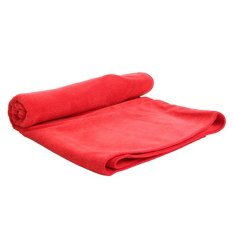 Beli Quickdry Travel Towel Merah Handuk Mandi Cicil