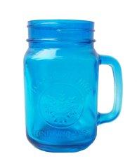 Jual Quincy Home Mug Jar Harvest Blue Grosir