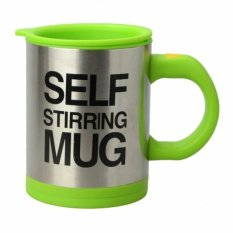 Jual Quincy Home Self Stirring Mug Quincy Hijau Termurah