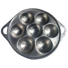 Quinn TS alumunium cetakan kue carabikang atau apem mini isi 7