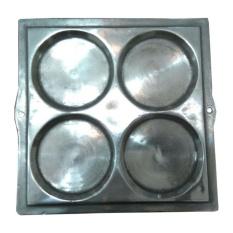 Quinn TS alumunium cetakan kue martabak mini atau apem isi 4