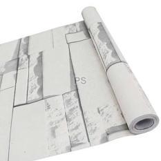wallpaper sticker sticker batu 3D wallpaper dinding R008