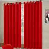 Harga Rainbow Gorden Gordyn Blackout Glossy Red Merah Rainbow Asli