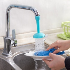 Rainbow Situs Faucet Water Saving Device untuk Home Hotel-Long Blue-Intl