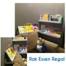 Rak Buku Anak / Rak Melayang / Rak Gantung / Lemari Buku