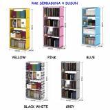 Perbandingan Harga Rak Buku Portable Rak Serbaguna 4 Susun Elektroma Di Dki Jakarta