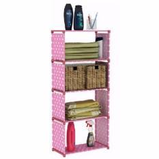 Rak Buku Single Bookshelf Book Case Self Cabinet Baju Show Case