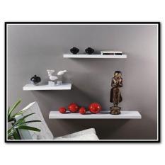 Beli Rak Dinding Minimalis 1 Set 3Pc Uk 50 40 30 L12Cm Handicraft Furniture Online