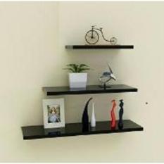 Beli Rak Dinding Minimalis Uk 80 60 40 L20Cm Handicraft Furniture Dengan Harga Terjangkau