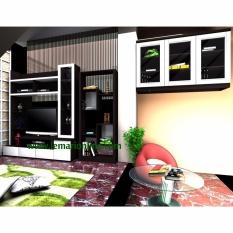 Rak Gantung, Lemari TV / Bufet TV, Rak Buku (Paket Bonafid)