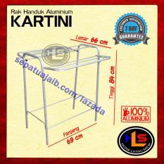 Rak Handuk Aluminium Murah / Gantungan Baju Murah / Jemuran Murah
