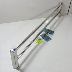 Toko Rak Handuk Minimalis 60Cm Stainless Steel Online Terpercaya